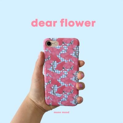 [뮤즈무드] dear flower 아이폰케이스