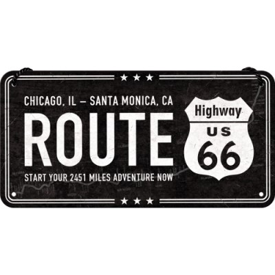 [28025] Highway 66 Black
