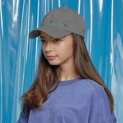 DAILY PIGMENT BALL CAP CHARCOAL