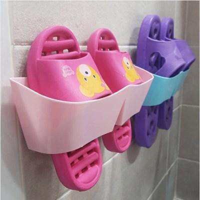 미니멀 m 욕실화 정리대1개(색상랜덤)