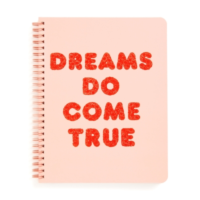 ROUGH DRAFT MINI NOTEBOOK - DREAMS DO COME TRUE (노트)