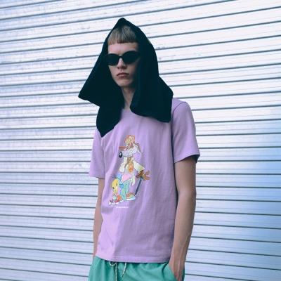 [SS19 Looney Tunes] LT Genius T-Shirts(Lavender)_(677468)
