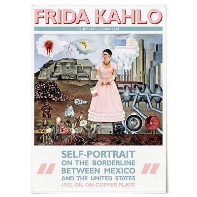 패브릭 포스터 명화 그림 빈티지 액자 프리다 칼로 A