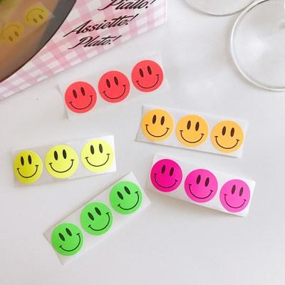 Neon Smile Sticker (20개)