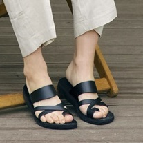 [JERUSALENSANDALS]NO.8 THE GOOD SHEPHERD_BLACK(FLJS9S2U01)