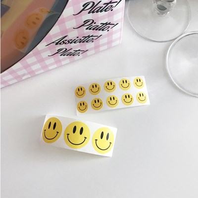 Yellow Smile Sticker