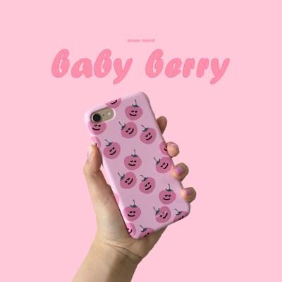 [뮤즈무드] baby berry 아이폰케이스