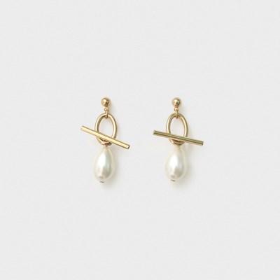 ot pearl drop earring