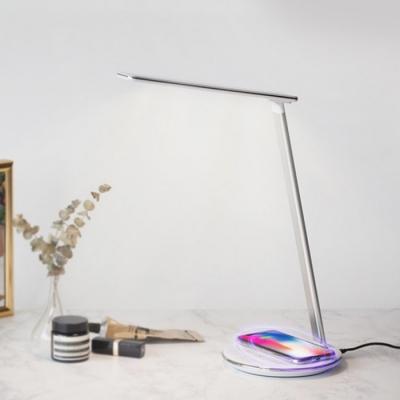 [로이체] WC-LAMP 고속 무선충전 터치램프 LED스탠드
