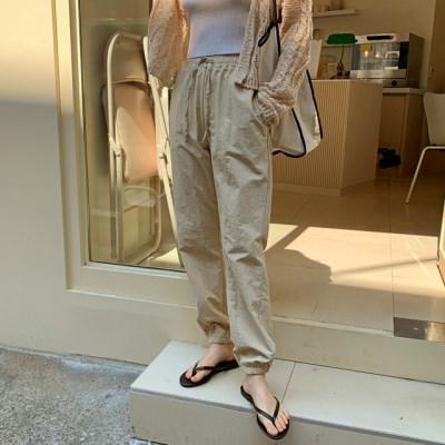 Meet string jogger pants_B_(1289990)