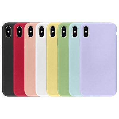 아이폰8플러스 크레파스 파스텔 매트 실리콘 케이스 (P096)