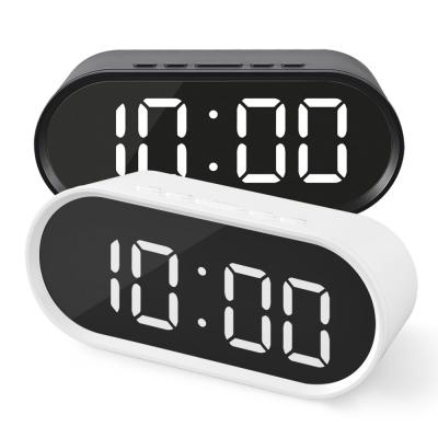 엑토 젠 LED 무소음 USB 미러 알람 시계 SLH-12