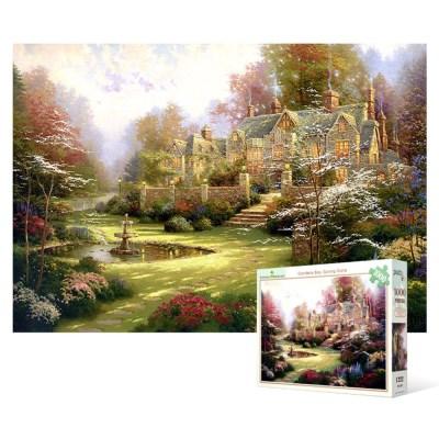 1000피스 직소퍼즐 / 봄 문턱의 정원