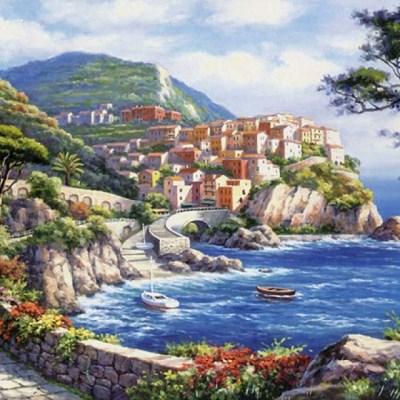 500조각 직소퍼즐 - 부둣가 마을 (LA500-024)