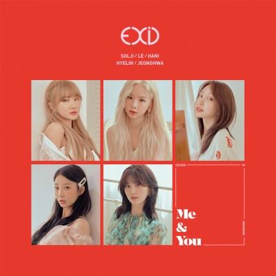 포스터) EXID 이엑스아이디 - 미니 5집 [WE] 미앤유