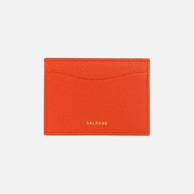 REIMS W018 Roof Mini Card Wallet RedOrange