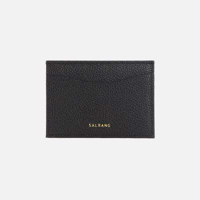 REIMS W018 Roof Mini Card Wallet Black