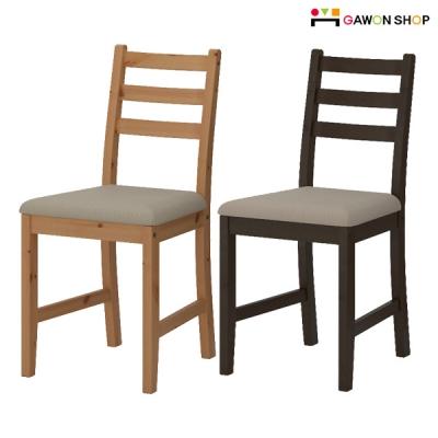이케아 LERHAMN 의자/식탁의자/원목의자/주방가구