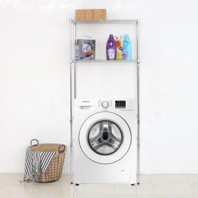 팬물산 DIY 세탁기 메탈랙 메탈선반 2종_(1345960)