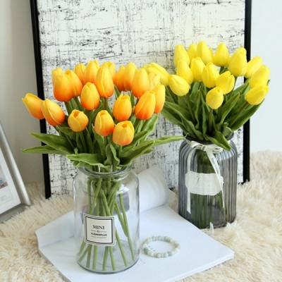 갓샵 망고 튤립 조화 꽃 6color 예쁜 인테리어 장식 용 소품