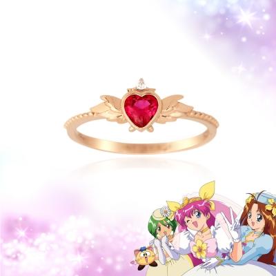 텐바이텐ONLY [웨딩피치X클루] 따뜻한 사랑 웨딩피치 실버 반지