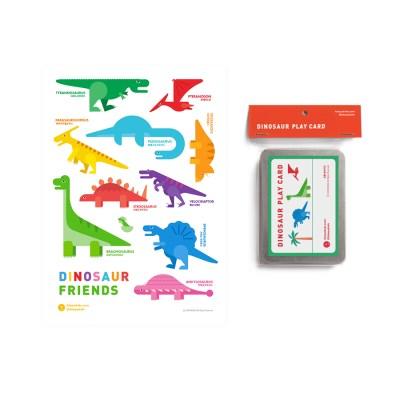 공룡벽보 단어카드 (poster+card)