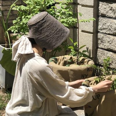 잼머 라피아 보넷 : Jammer raffia bonnet [4colors]