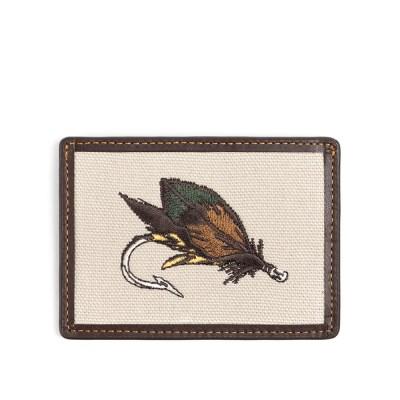 FLY FISHING CARD CASE (dark brown)