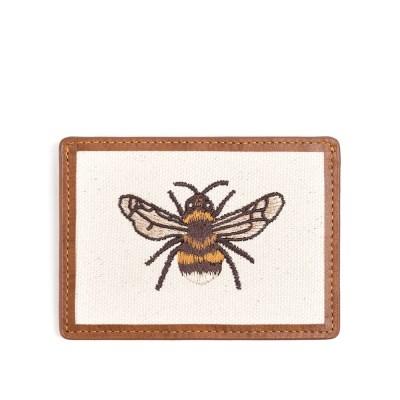 HONEYBEE CARD CASE (brown)