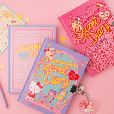 [텐바이텐 단독] HELLO KITTY CHARMING CLUB Secret Diary