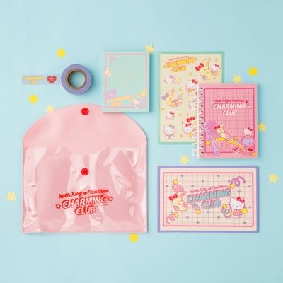 [텐바이텐 단독] HELLO KITTY CHARMING CLUB Stationery Pack