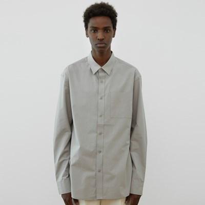 [ASPIVOT] [에스파이벗] 워시드 코튼 스탠카라 셔츠s
