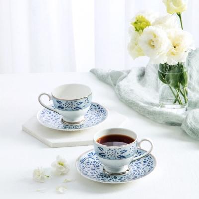 한국도자기 궁 챠토우 커피세트 4p(2인) (블루)