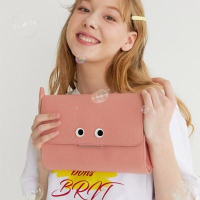 LOVE CHAMR_ 주근깨 Cluch (Coral Pink)