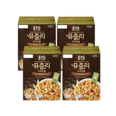 [풀무원]뮤즐리 슈퍼곡물 렌틸&귀리 (400gx4개입)