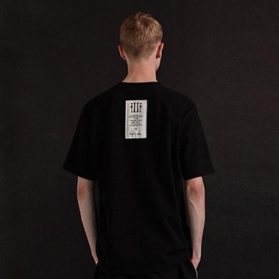 [디바이디그낙] illi Patch Printing T-Shirts BK