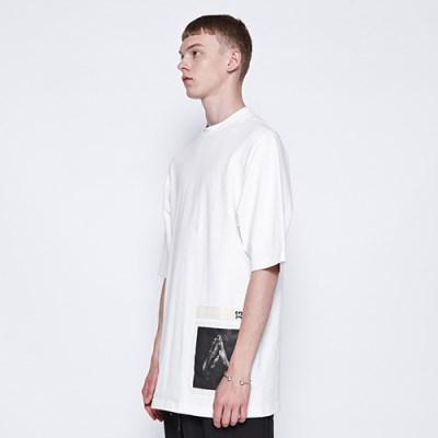 [디바이디그낙] Pray Basic T-Shirts WH