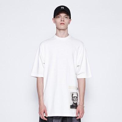 [디바이디그낙] Frankenstein Basic T-Shirts WH
