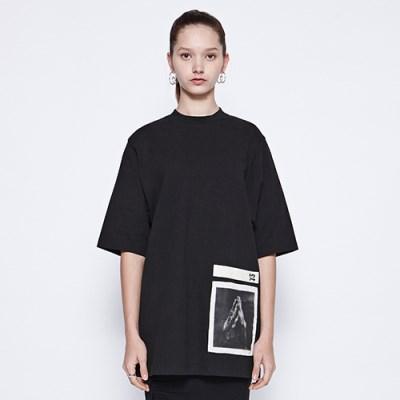 [디바이디그낙] Pray Basic T-Shirts BK