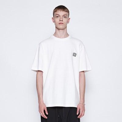 [디바이디그낙] illi Patch Printing T-Shirts WH