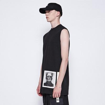[디바이디그낙] Frankenstein Sleeveless T-Shirts B