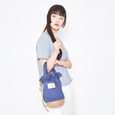 Jute Pottery Bag_Blue