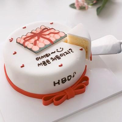 서른살 생일을 위한 특별한 30살 생일 레터링 슈가케이크