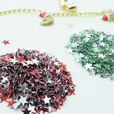 (몽스쿨) DS0049-9 별 큐빅 크리스마스컨셉 1cm(200P)_(1581394)