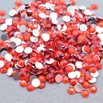 (몽스쿨) DS0046-7 원형큐빅 빨강 0.6cm(400P)_(1581372)