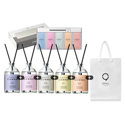 데일리콤마 디퓨저 5종 선물박스 + 쇼핑백