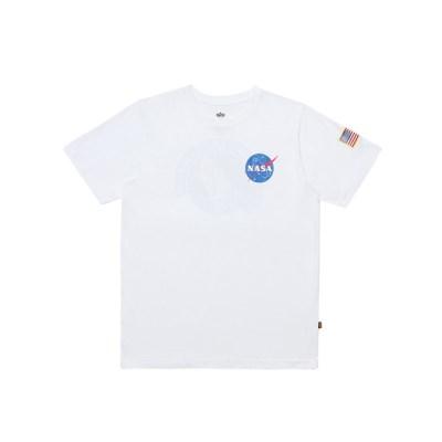 알파인더스트리 나사 반팔 티셔츠 WHITE_(201817932)