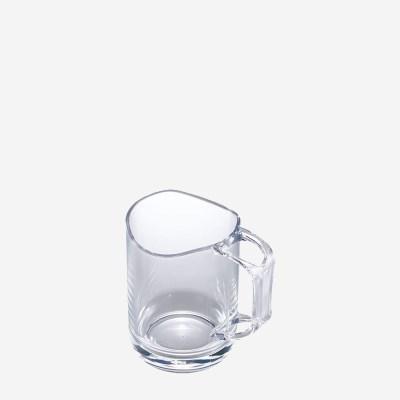 라이크잇 스탠드머그양치컵 칫솔꽂이 욕실용품 클리어