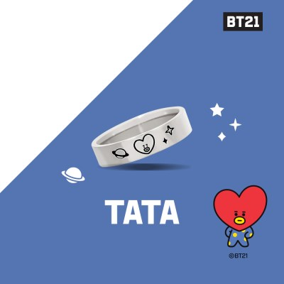 [BT21] 실버 반지 : TATA OTRB19213NSS