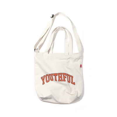 ARCH YOUTHFUL 2WAY BAG-IVORY.ORANGE